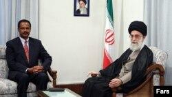 آسیاس آفورقی رئیس جمهور اریتره پیش از این در تهران با رهبر جمهوری اسلامی دیداری داشت.