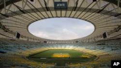 La final de la Copa de Confederaciones se jugará en el estadio de Maracaná que aún no está terminado.