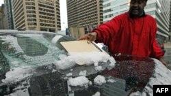 Від рідкісної у США жовтневої снігової бурі загинуло 5 людей