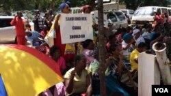 Pro Grace Mugabe Protesters Harare .