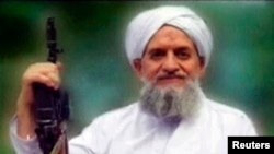 FILE - Al-Qaida's Ayman al-Zawahiri is seen in this still image taken from a video released in September 2011.