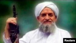 Le leader d'Al-Qaïda, Ayman al-Zawahiri, apparait dans une capture d'écran d'une vidéo diffusée en septembre 2011.