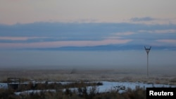 The Malheur National Wildlife Refuge near Burns, Oregon.
