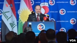 Masoud Barzani president of the Kurdistan Region- Iraq