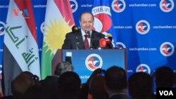 Masoud Barzani president of the Kurdistan Region- Iraq