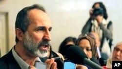 Suriye Ulusal Koalisyonu Başkanı El Katip