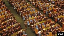 PBB menyelenggarakan konferensi mengenai target pencapaian MDG di markas PBB di New York (foto: file dok)