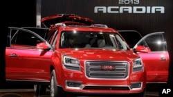 Uno de los vehículos con problemas es el GMC Acadia de 2013.