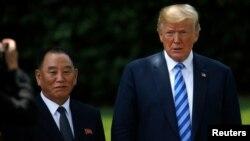 دیدار اخیر مقام ارشد کره شمالی با پرزیدنت ترامپ