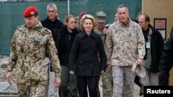 وزیر دفاع جدید آلمان به کابل سفر کرد