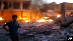 敘利亞境內戰況持續不斷