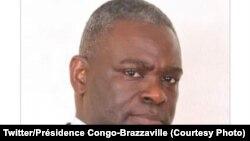 Collinet Makosso, ministre wa Yambo ya Congo-Brazzaville, 12 mai 2021. (Twitter/Présidence Congo-Brazzaville)