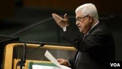 فلسطینی انتظامیہ کے سربراہ صدر محمو عباس