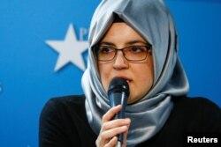 خدیجہ چنگیز سعودی صحافی جمال خشوگی کی منگیتر تھیں۔