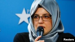 Hatice Cengiz, perempuan Turki tunangan mendiang jurnalis Jamal Khashoggi