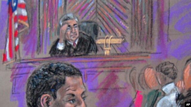 Accused terrorist Ahmed Ghailani in court