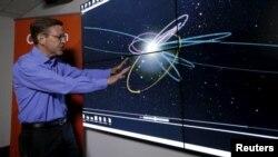 دانشمندان تصویری از مسیر این سیاره جدید می دهند.