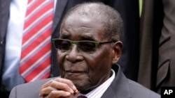 Robert Mugabe, le président zimbabwéen