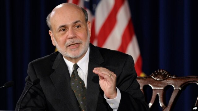 Federal Reserve Chairman Ben Bernanke speaks during a news conference in Washington, June 19, 2013.