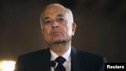 Sekjen Liga Arab, Nabil Elaraby (foto: dok).