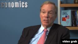 彼得森世界经济研究所名誉所长伯格斯特滕 (视频截图)