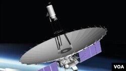 RadioAstron atau Spektr R, teleskop antariksa Rusia yang diluncurkan dari Kazakhstan (18/7).