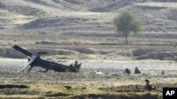 'امریکی ہیلی کاپٹر گرنے کی حتمی وجہ کا علم نہیں'