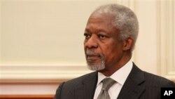 Ðặc sứ hòa bình quốc tế Kofi Annan
