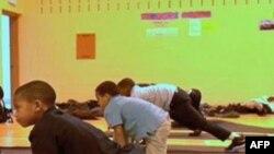 Djaci u osnovnoj školi Robert Kolman u Baltimoru u Merilendu.