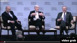 華盛頓外交關係理事會討論中國經濟轉型 (視頻截圖)