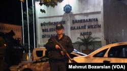 نیروهای پلیس ترکیه در دیاربکر