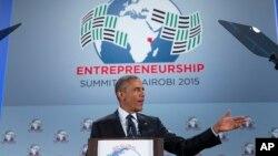 La visita del mandatario estadounidense se centra en impulsar las relaciones comerciales y de seguridad con Kenia.
