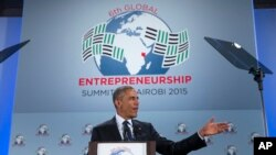 Presidente Barack Obama na Cimeira Global de Empreendedorismo