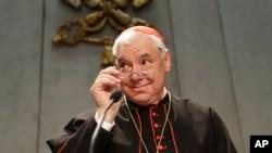 被教宗方济各撤换的梵蒂冈教理部部长穆勒枢机主教。(资料照片)