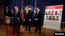 جفری برمن، دادستان منطقه جنوبی نیویورک، جرائم هکرهای ایرانی را توضیح می دهد.