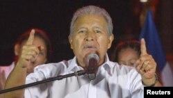 Salvador Sánchez Cerén cumple tres años como presidente de El Salvador el jueves, 1 de junio de 2017.