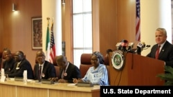 Deputy Secretary of State John Sullivan at the U.S.-Nigeria Bi-National Commission.