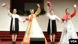 평양예술단 미국 순회공연
