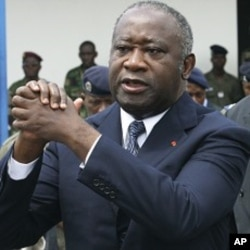 Ivory Coast's former President Laurent Gbagbo (File Photo)