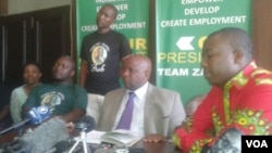 FILE: An organization affiliated to Zanu PF speaks out about factionalism in the ruling party.