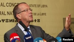 Martin Kobler à Tripoli le 22 novembre 2015.