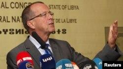 Martin Kobler, le représentant spécial du secrétaire général de l'ONU pour la Libye