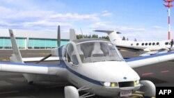 """Eksperimentalni model letećeg automobila firme """"Terafjudža"""""""