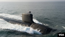美國維吉尼亞級核動力潛艇(資料圖片)