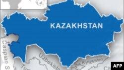 Pejabat sementara perbatasan Kazakhstan beserta tujuh awak dan 19 stafnya tewas dalam kecelakaan pesawat di dekat perbatasan Uzbekistan (Foto: peta wilayah Kazakhstan).