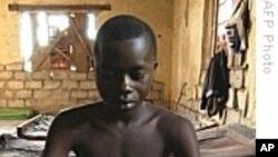 刚果(金)的一名儿童