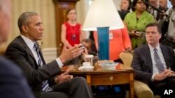 Barack Obama, Maison Blanche, le 13 juin 2016.(AP Photo/Pablo Martinez Monsivais)