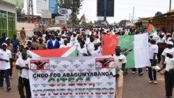 "Burundi: Umugambwe CNDD-FDD Uvuga ko Imbonerakure ""Zitonda"""