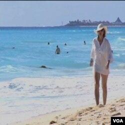 Plaža u Cancunu, Mexico