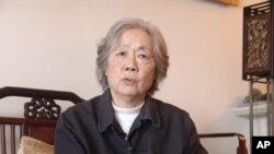 天安門母親丁子霖(資料照片)